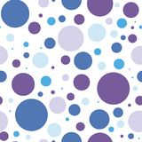 Seamless background vector color circles, composition of geometric shapes. purple and blue circles. Seamless background vector color circles. composition of royalty free illustration