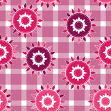 Seamless background, vector pattern for cushion, pillow, bandanna, kerchief, shawl fabric print. Texture for clothes and bedclothe Royalty Free Stock Images