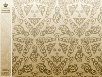 Seamless background vintage  floral Pattern Royalty Free Stock Images