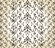 Seamless background vintage  retro Pattern Royalty Free Stock Image