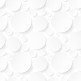 Seamless background with white circles Royalty Free Stock Photo