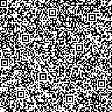 Seamless Background With QR Code Pattern Royalty Free Stock Image