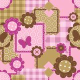 Seamless Background With Scrapbook Obj