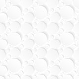 Seamless Background With White Circles Stock Photo