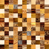 Seamless background with wooden patterns Stock Photo