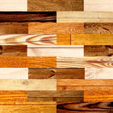 Seamless background with wooden patterns Stock Image