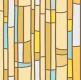Seamless background, yellow stained glass. Royalty Free Stock Photo