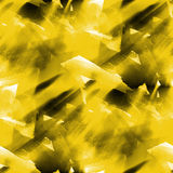 Seamless background yellow watercolor texture Stock Photo