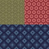 Seamless backgrounds of Chinese style Stock Photo