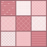 Seamless backgrounds Collection - Vintage Tile. Wonderful Seamless backgrounds Collection - Vintage Tile in in pink vector illustration