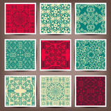 Seamless backgrounds Collection - Vintage Tile. 10 eps royalty free illustration