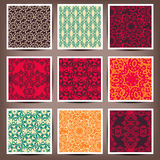 Seamless backgrounds Collection - Vintage Tile. 10 eps vector illustration