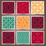 Seamless backgrounds Collection - Vintage Tile. 10 eps stock illustration