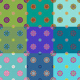 Seamless backgrounds patterns Royalty Free Stock Image