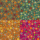Seamless backgrounds Royalty Free Stock Photo