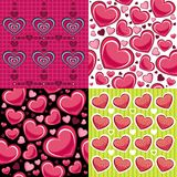 Seamless Backgrounds Valentine Royalty Free Stock Photography