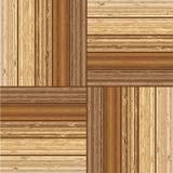 Wooden parquet floor with natural patterns Stock Images