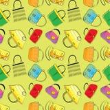 Seamless.BAgs illustration stock