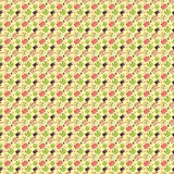 Seamless bags pattern Stock Photography
