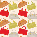 Seamless bags pattern Stock Images
