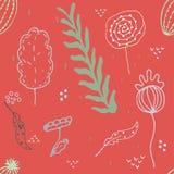 Seamless bakgrund stock illustrationer