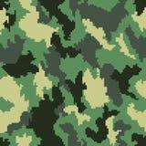Seamless bakgrund för kamouflage Arkivfoton