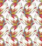 Seamless bakgrund för textildesign Arkivbild
