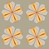 Seamless bakgrund för vektor royaltyfri illustrationer