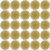 Seamless blom- mönstrar Royaltyfri Bild