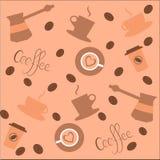 Kaffebakgrund Vektor Illustrationer