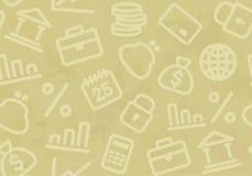seamless bakgrundsbankrörelsefinans royaltyfri illustrationer