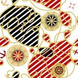 seamless bakgrundshav Royaltyfria Bilder