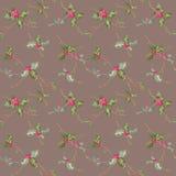 seamless bakgrundsjul Royaltyfria Bilder