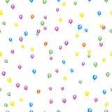 Seamless Balloon Background Royalty Free Stock Photos