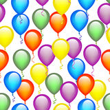 Seamless Balloon Pattern Royalty Free Stock Images