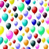 Seamless balloons Stock Image