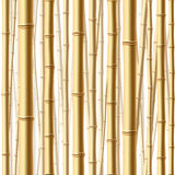 Seamless bamboo forest Royalty Free Stock Photos