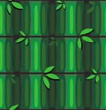 Seamless bamboo pattern Stock Photos