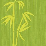 Seamless bamboo pattern Stock Photography