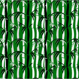 Seamless Bamboo Pattern Royalty Free Stock Images