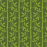 Seamless bamboo wallpaper Stock Image