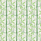 Seamless bamboo wallpaper Stock Images