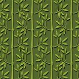 Seamless bamboo wallpaper Stock Image