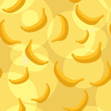 Seamless bananas background Stock Image