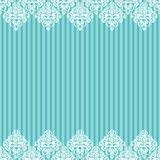 Seamless baroque damask background Stock Images