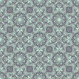 Seamless baroque damask background Royalty Free Stock Images