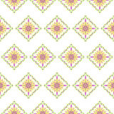 Seamless baroque elegant floral pattern Royalty Free Stock Image