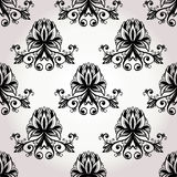 Seamless baroque floral ornament Royalty Free Stock Photography