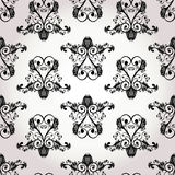 Seamless baroque floral ornament Stock Photography
