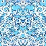 Seamless baroque pattern Stock Photo